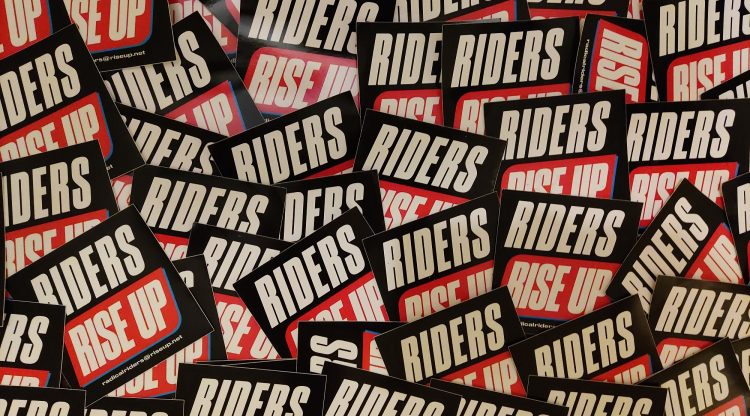 radical riders stickers